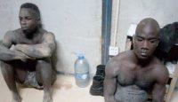 Des voleurs appréhendés au Stade d'Ebimpé